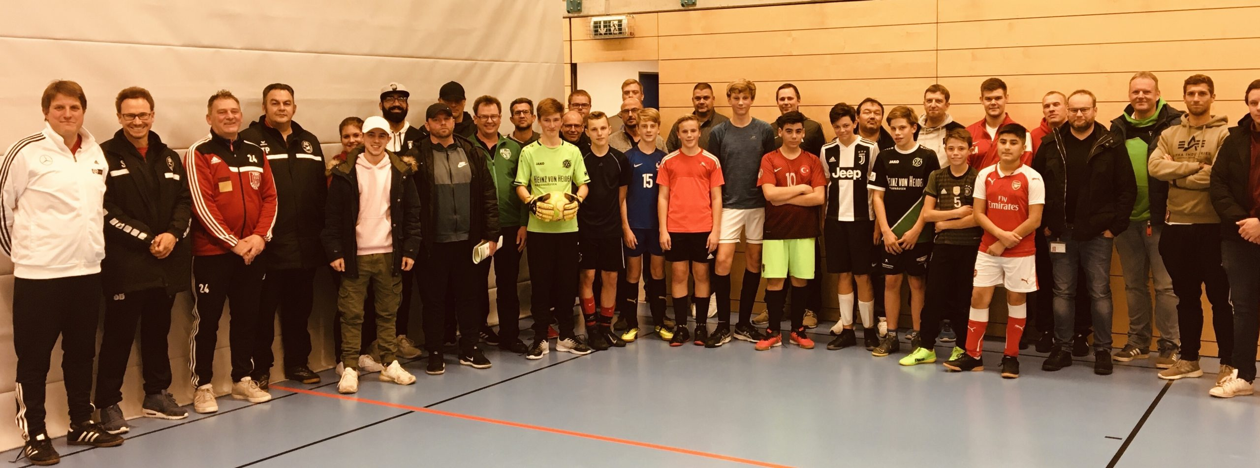 Neunte Fußballtrainerfortbildung im Stadtgebiet in den letzten vier Jahren