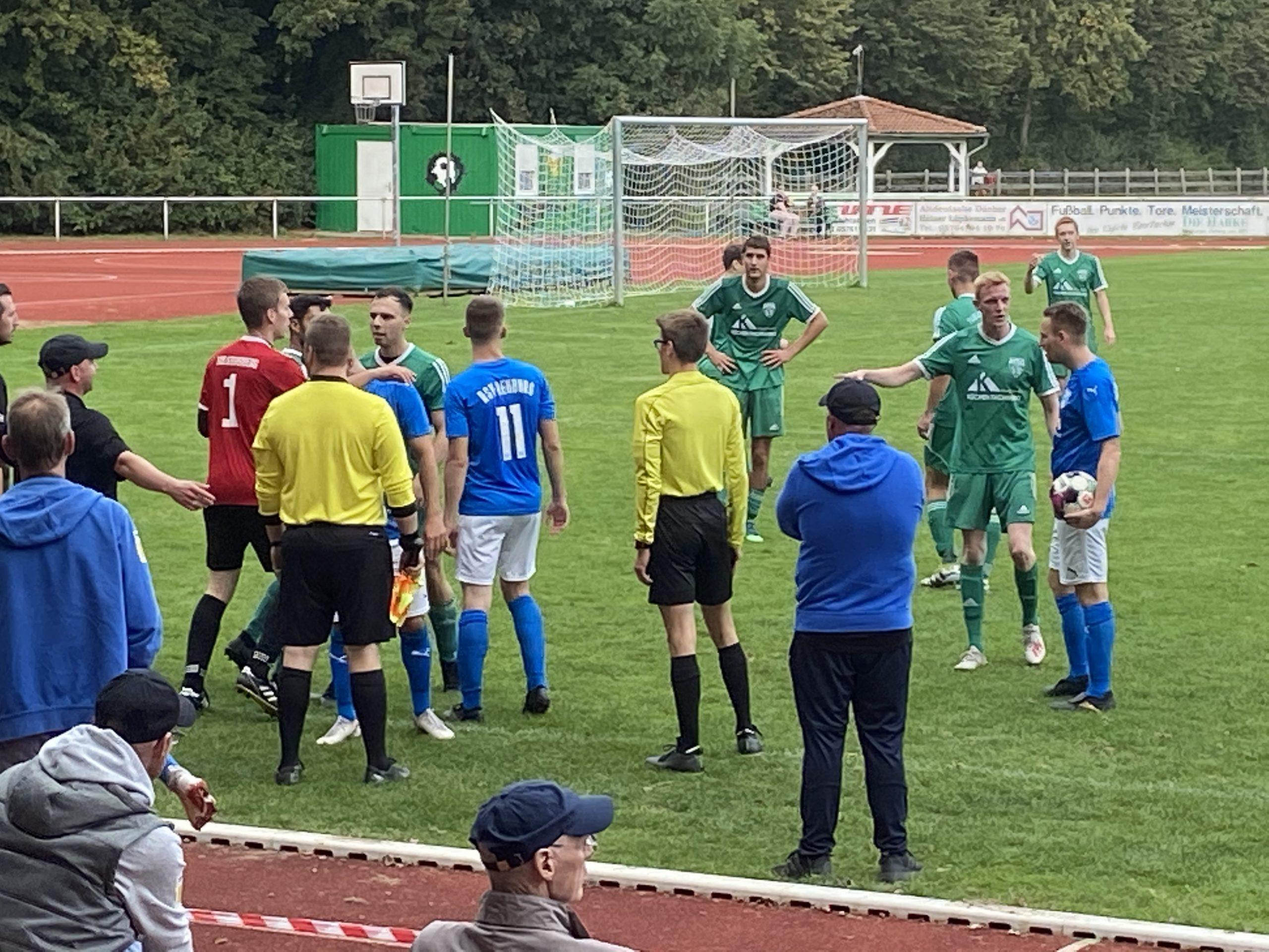 Rehburg spielt in doppelter Unterzahl 0:0