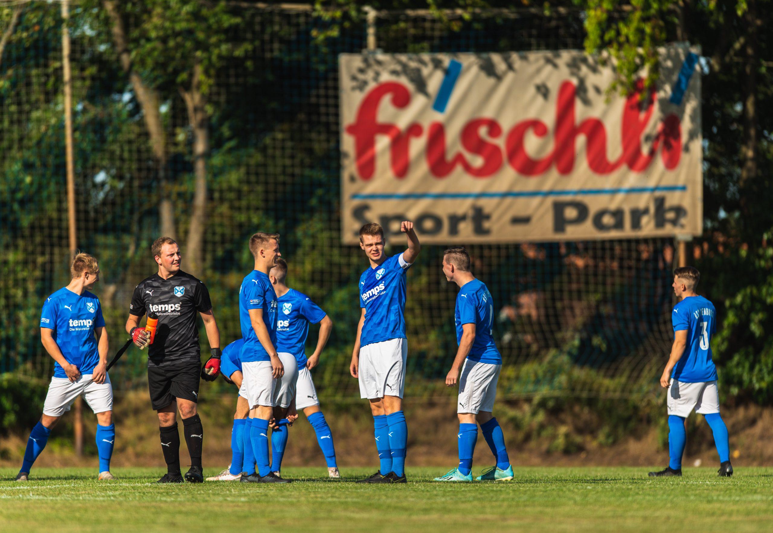 Joker Sedo Haso dreht Spiel gegen SV Duddenhausen.